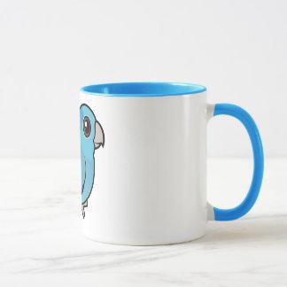Mug Parrotlet Pacifique bleu