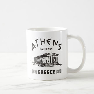 Mug Parthenon - Athènes - Grec (noir)