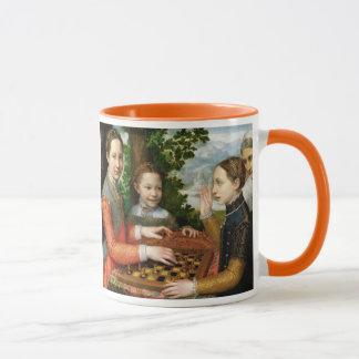 Mug Partie d'échecs par Sofonisba Anguissola - Circa