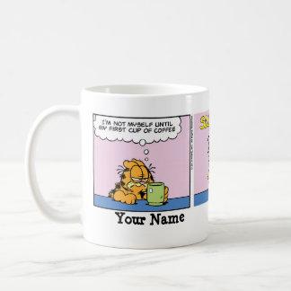 """Mug """"Pas moi-même"""" présentation horizontale sur"""