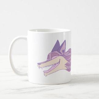 Mug Pastel vivant de Fox d'une manière extravagante