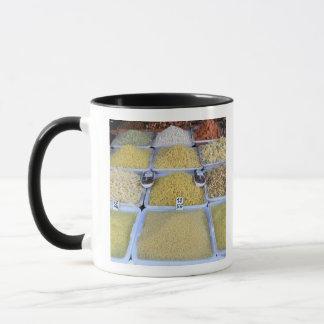 Mug Pâtes, céréale, panier, nourriture italienne,