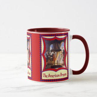 Mug Patriotique américain, cloche de liberté