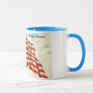 Mug Patriotique vintage 4 juillet