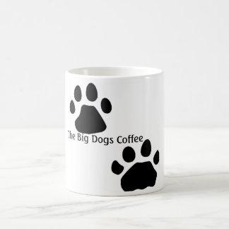 Mug Pattes de chien, le grand café de chiens