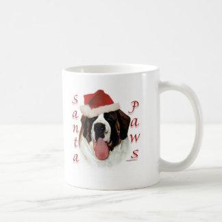 Mug Pattes de St Bernard Père Noël