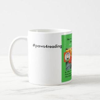 Mug pattes pour la lecture