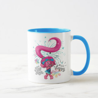 Mug Pavot des trolls | bonjour heureux