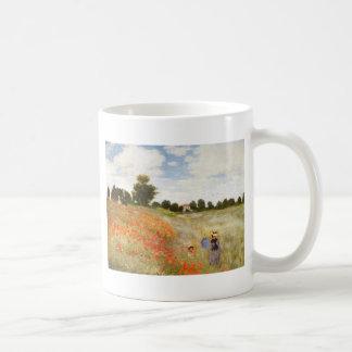 Mug Pavots rouges fleurissant - Claude Monet