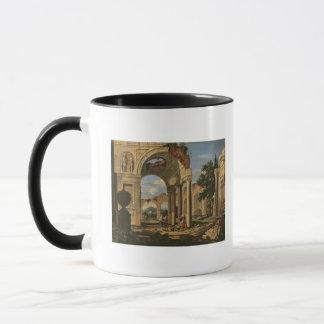 Mug Paysage avec des ruines, 1673