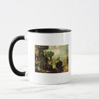 Mug Paysage avec des saints, 1520-30