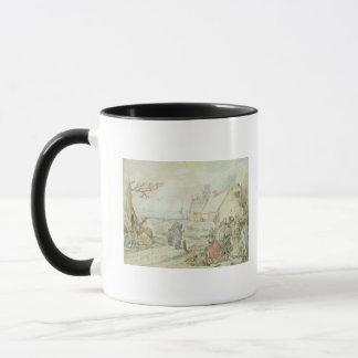 Mug Paysage avec les diseurs de bonne aventure gitans