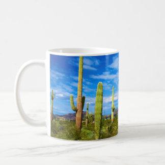 Mug Paysage de cactus de désert, Arizona