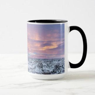 Mug Paysage de gisement de lave de Milou, Islande