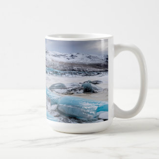 Mug Paysage de glace de glacier, Islande