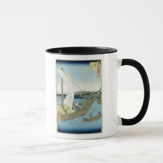 Mug Paysage de Kuwana, de '53 vues célèbres