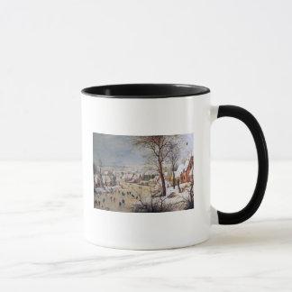 Mug Paysage d'hiver avec Birdtrap, 1601