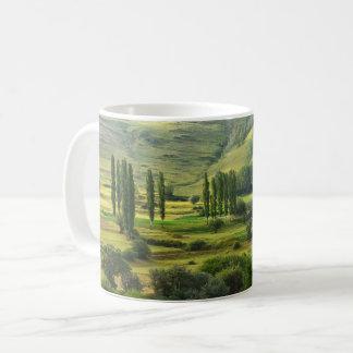 Mug Paysage luxuriant de vallée verte