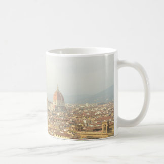 Mug Paysage urbain de Florence ou de Firenze Italie