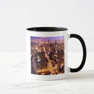 Mug Paysage urbain la nuit de Chicago