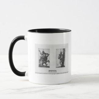 Mug Paysans de danse et un joueur de cornemuse, 1514