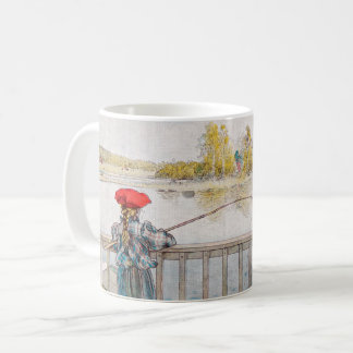 Mug Pêche de Lisbet par Carl Larsson, beaux-arts