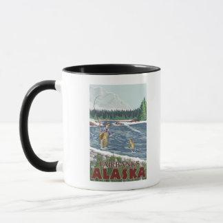 Mug Pêcheur de mouche - Fairbanks, Alaska