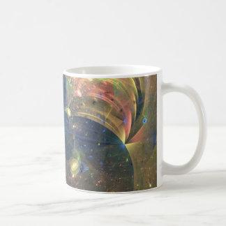 Mug Peinture d'abrégé sur espace extra-atmosphérique,
