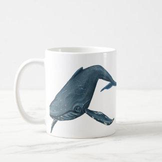 Mug Peinture de baleine de bosse