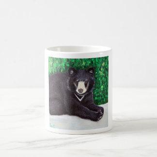 Mug Peinture d'ours noir