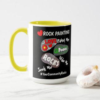 Mug Peinture Hashtag personnalisé par Communauté de