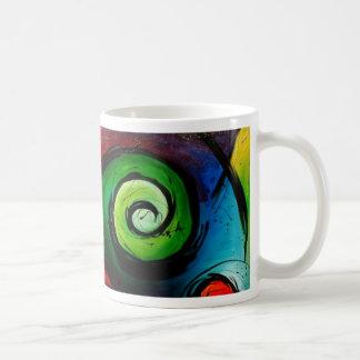 Mug Peinture lumineuse géniale d'art abstrait
