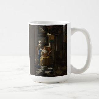 Mug Peinture néerlandaise de Vermeer d'artiste -