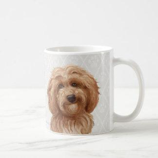 Mug Peintures de chien de Labradoodle/amour de