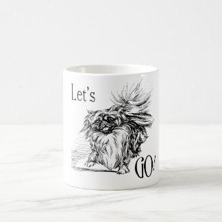 Mug Pekingese désireux