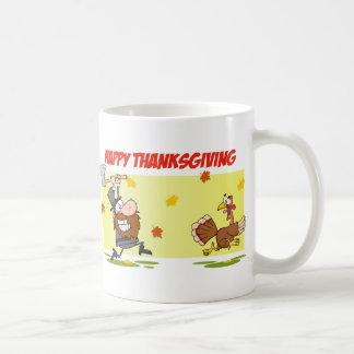 Mug Pèlerin chassant la Turquie