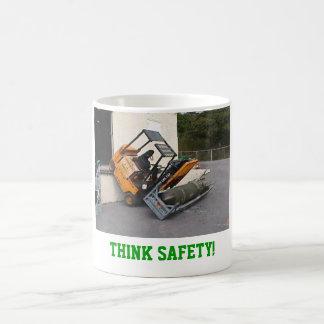 Mug Pensez la sécurité !