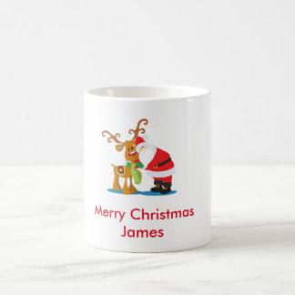 Mug Père Noël et Rudolph
