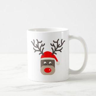 Mug Père Noël Rudolf
