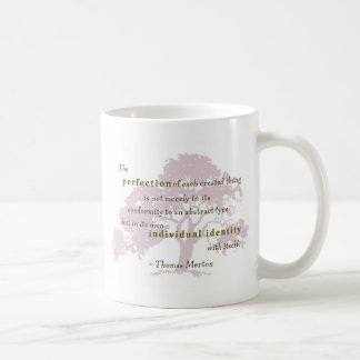 Mug Perfection 3 de citation de Merton
