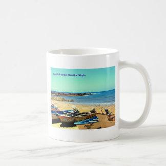 Mug Perle du Pacifique, bateaux de Mazatlan Mexique