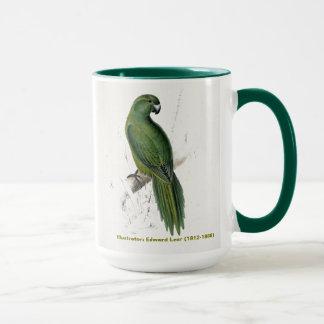 Mug Perruche d'uniforme de collection d'oiseau