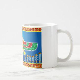 Mug Persan Faravahar de Zoroastrian