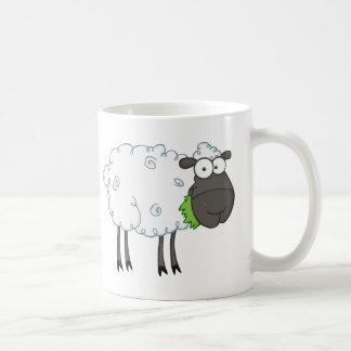 Mug Personnage de dessin animé de moutons noirs