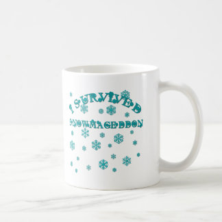 Mug Personnalisable J'AI SURVÉCU à SNOWMAGEDDON