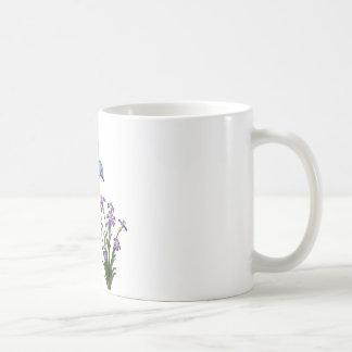 Mug Personnaliser de fleur d'oiseau de ronflement