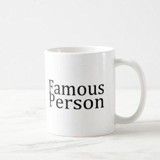 Mug Personne célèbre