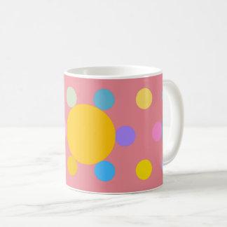 """Mug petit modèle, rose, """"Fleur stylisée Pastel"""""""