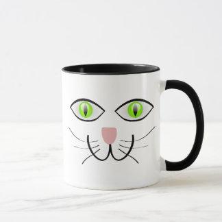 Mug Petit visage gris de chat de chaton