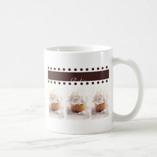 Mug Petits gâteaux blancs sur des articles d'affaires